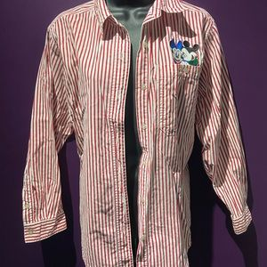 Mickey & Minnie button up shirt